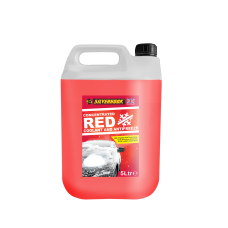 Antifreeze Red Concentrated 5 Litre