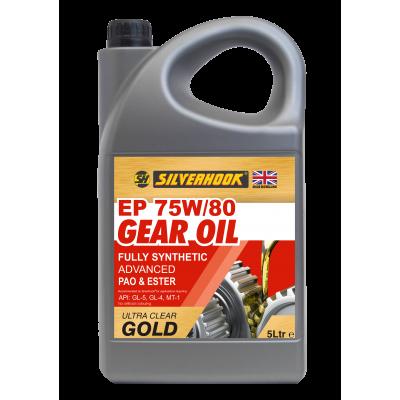 Gear Oil 75W/80 GL4/GL5 Synth 5 Litre
