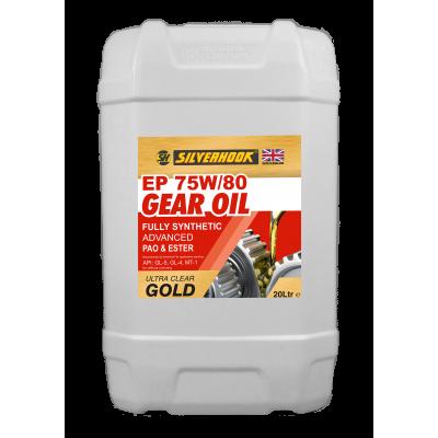 Gear Oil 75W/80 GL4/GL5 Synth 20 Litre