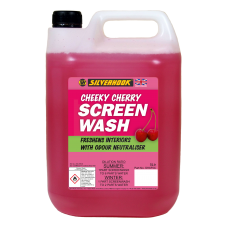 Screen Wash 5 Litre Fragrant Cherry Concentrated
