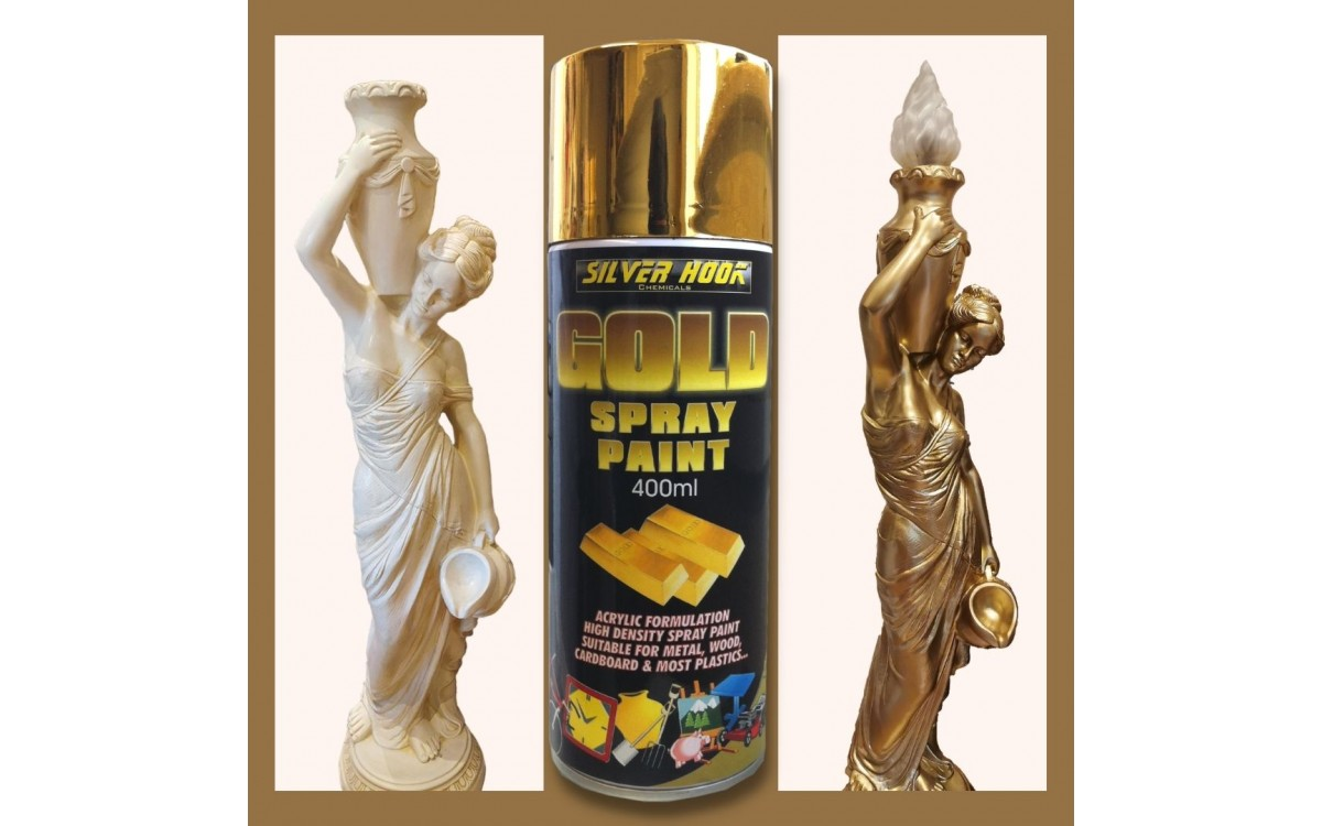 Gold Spray Paint Customer Review