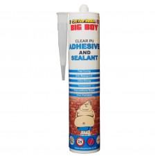 Big Boy Polyurethane Adhesive and Sealant Cartridge - Clear 310ml