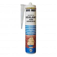 Bigboy Polyurethane Adhesive & Sealant Cartridge, White 310ml