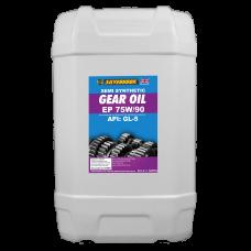 Gear Oil 75W/90 Semi Synthetic 20 Litre