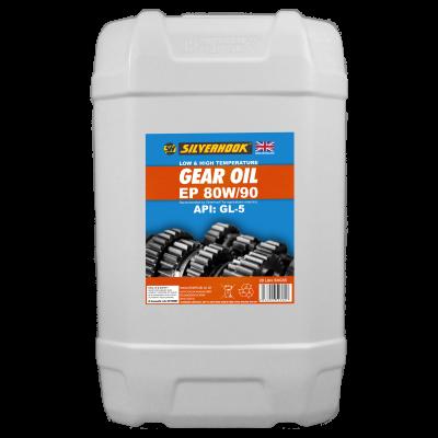 Gear Oil 80W/90 GL5 20 Litre