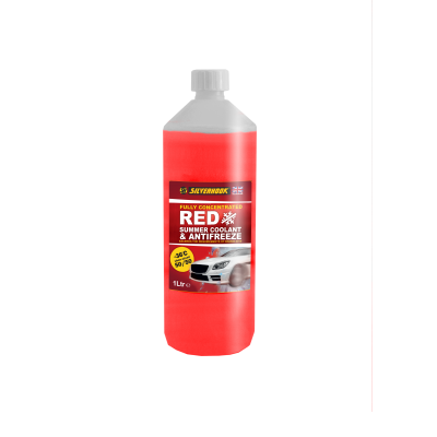 OAT Antifreeze Red Fully Concentrated 1 Litre