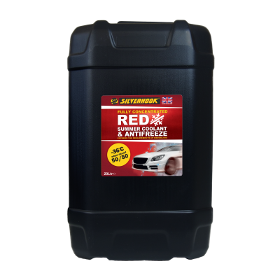 OAT Antifreeze Red Fully Concentrated 20 Litre