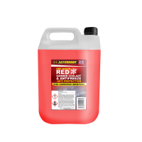 OAT Antifreeze Red Pre Mixed 4.54 Litre