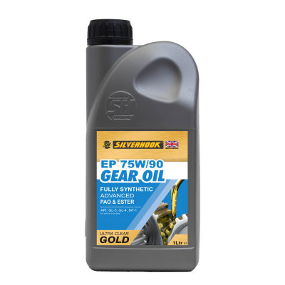Gear Oil 75W/90 Fully Synthetic 1 Litre