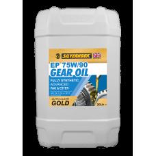 Gear Oil 75W/90 Fully Synthetic 20 Litre