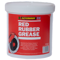 Grease Red Rubber 500g