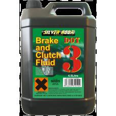 Brake Fluid DOT 3 4.54 Litre