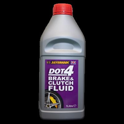 Brake Fluid DOT 4, 1 Litre