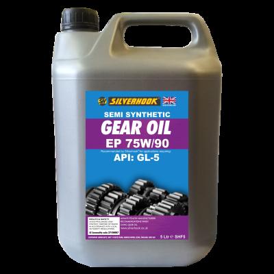 Gear Oil 75W/90 Semi Synthetic 4.54 Litre