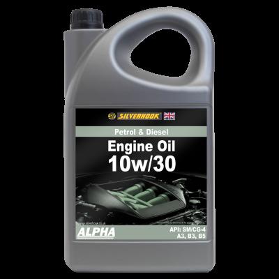 "10W/30 Engine Oil ""ALPHA"" 5 Litre"