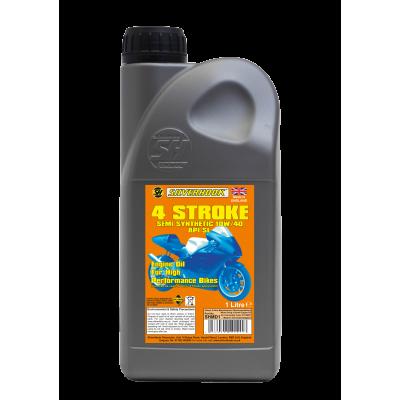 Four Stroke Semi Synthetic 10W/40 Oil 1 Litre
