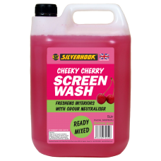 Screen Wash 5 Litre Fragrant Cherry Ready Mixed