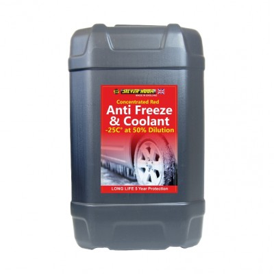 ANTIFREEZE RED CONCENTRATED 25L