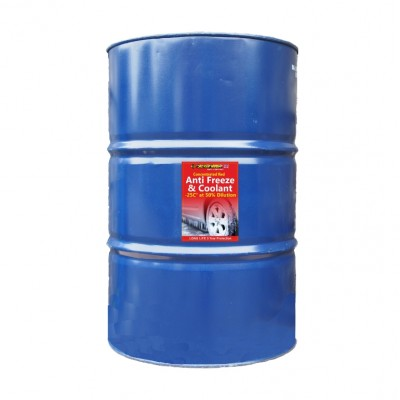 ANTIFREEZE RED CONCENTRATED 199L