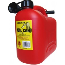 Petrol Can 5 Litre Red