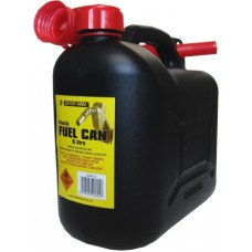 Fuel Can 5 Litre Black