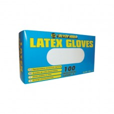 AQL 1.5 Latex Gloves Med 6.5g(100)
