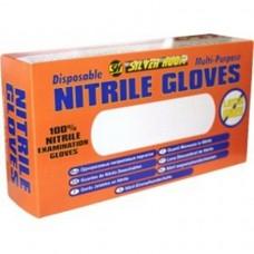 NITRILE GLOVES LARGE (100)