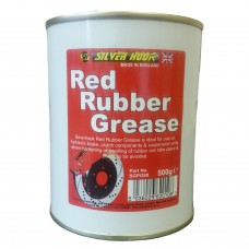 Grease Red Rubber 500g (Tin)