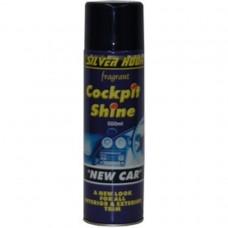 SILICONE SHINE 500ml NEW CAR