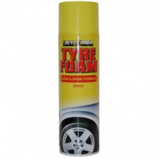 Tyre Foam Clean & Polish 650 ml