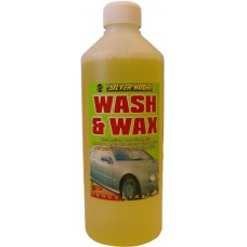WASH & WAX 500ml NEW SELF DRYING
