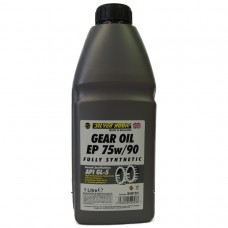 GEAR OIL 75/90 FULL SYNTHTIC 1LT