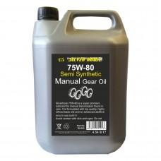 GEAR OIL 75/80 GL4+ SEMI 4.54L