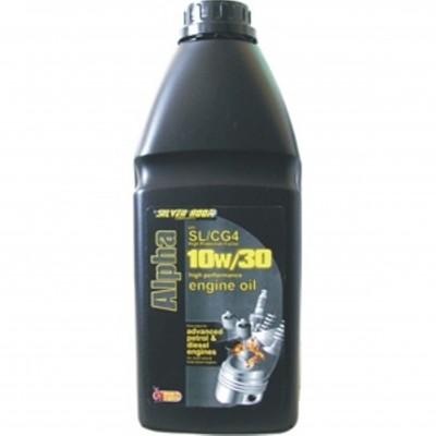 """OIL 10W/30 """"ALPHA"""" SL/CG4 1L"""