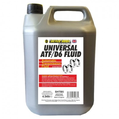 Universal D6 Automatic Transmission Fluid Synthetic 4.54 Litre