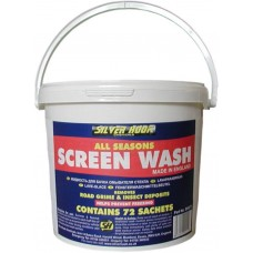 SCREEN WASH SACHET BUCKET OF 72