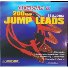 200 AMP JUMP LEADS 2.5 MTR Box