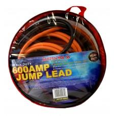 600 AMP JUMP LEADS 5m H/D clamp